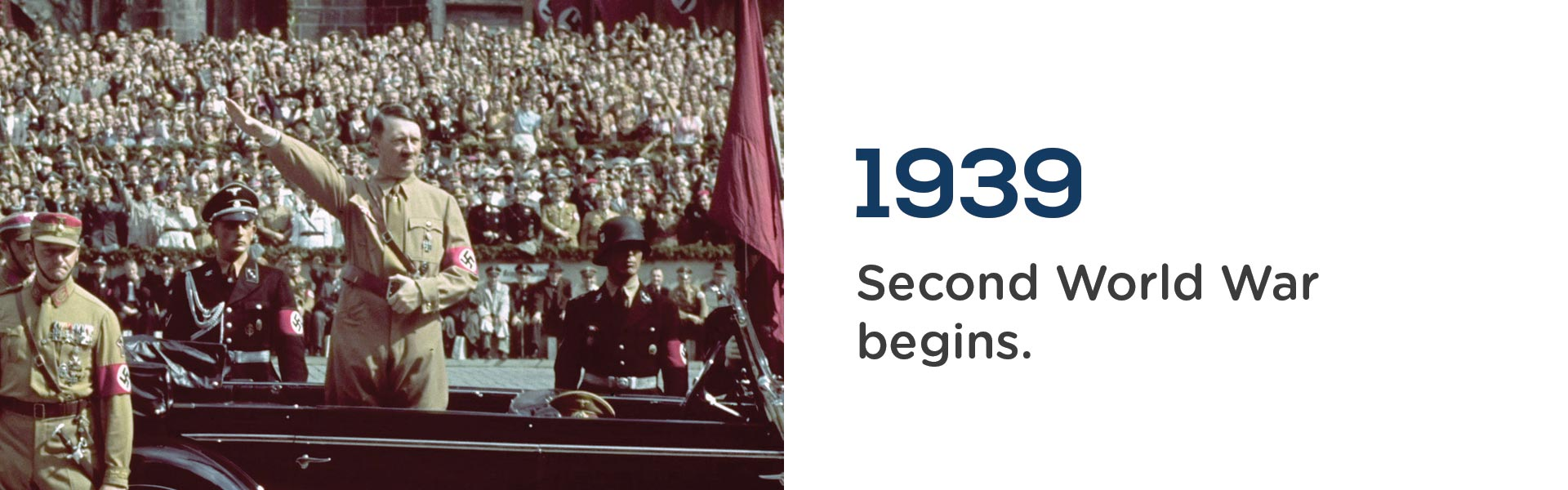 in 1939 the Second World War begins.Wrigley Claydon Solicitors, Trusted for 200 years